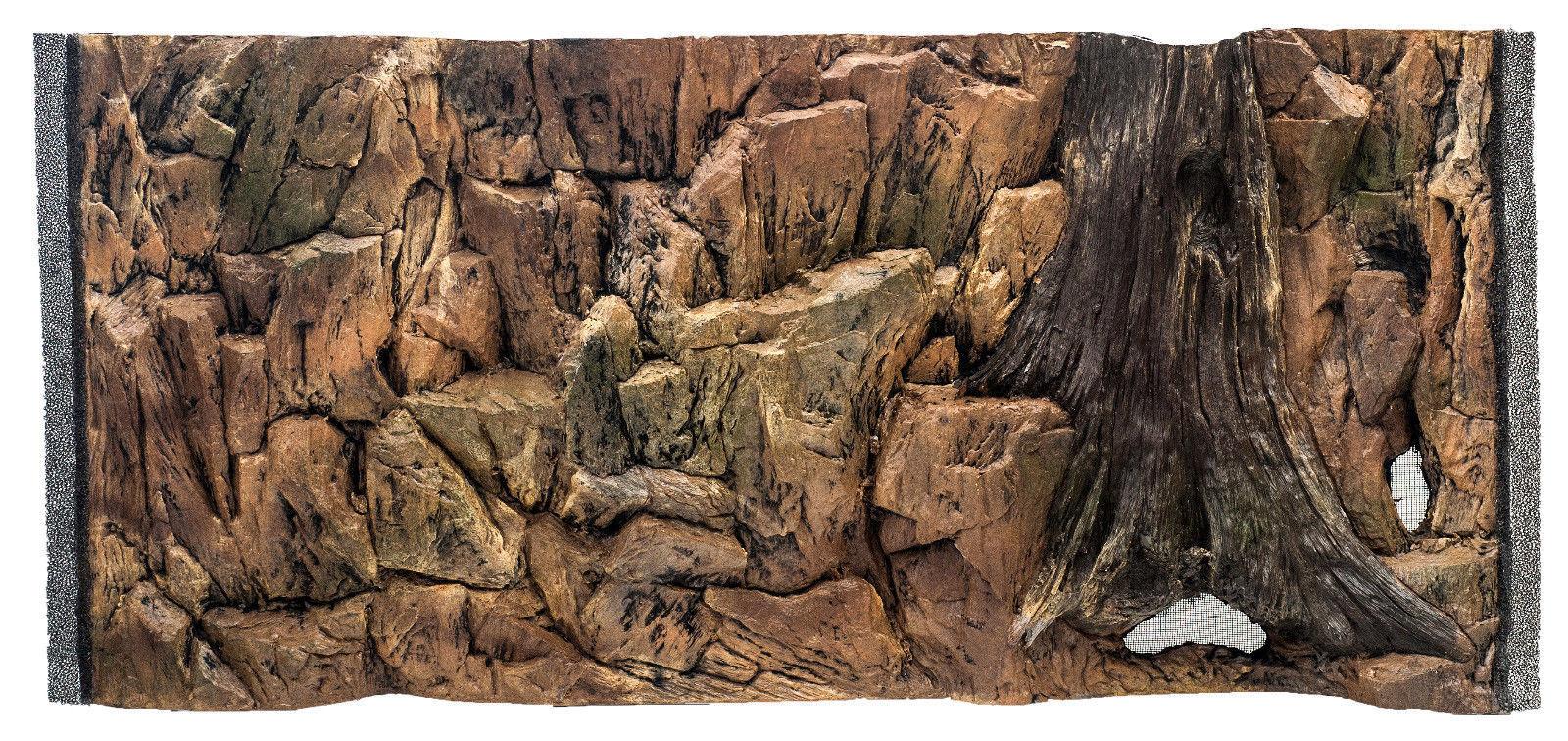 Aquarium 3 D Rückwand Aquariumrückwand Struktur 50x30cm bis 200x60cm