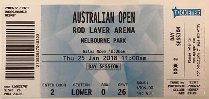 Australian open tickets