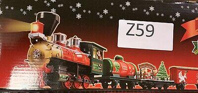 EZTEC North Pole Express Remote Control Animated Christmas 33 Pcs Train Set Z59
