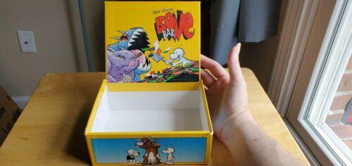 Bone Bar Empty Box Jeff Smith Chocolate Cartoon Books 1998 Kitchen Sink Press