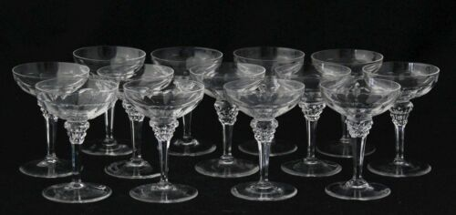 art deco crystal Liqueur or Cocktail Glass design 1928 Eisenloeffel Kristalunie