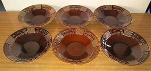Vintage Portmeirion Brown Bowls - Small Golden Grove Tea Tree Gully Area Preview