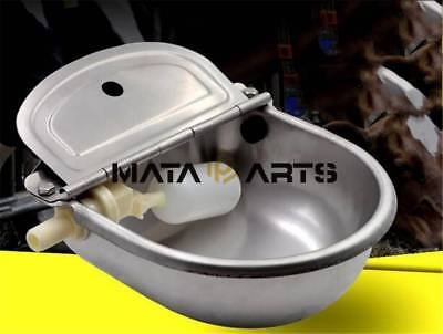 Stainless Automatic Water Feeder Trough Bowl Cattle Horse Goat Sheep Dog Animal