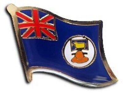 Falkland Islands Country Flag Bike Motorcycle Hat Cap lapel Pin (Country Falkland Islands)