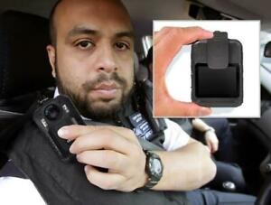 PPBCM9 COMPACT AND PORTABLE HD POLICE BODY CAMERA -- VIDEO AND AUDIO EVIDENCE RECORDING -- MANY APPLICATIONS !!