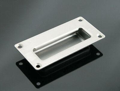 Rectangular Flush Pulls Drawer Sliding Door Handle Stainless Steel S - FP010