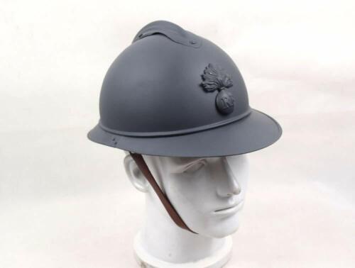 WWI M1915 M15 FRANCE FRENCH ADRIAN HELMET STEEL SOLDIER TYPE INFANTRY HELMET