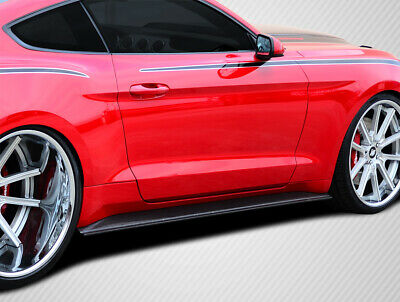 Carbon Creations GT Concept Side Skirt Rockers 2PC for 2015-2018 Mustang