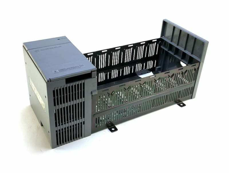 Allen Bradley 1746-P2 Series B SLC 500 Power Supply w/7-Slot Rack