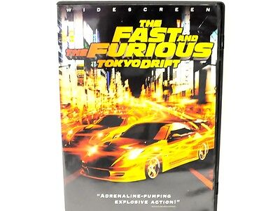 The Fast and The Furious Tokyo Drift DVD Movie Original Release