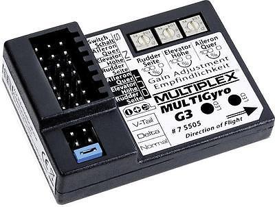Multiplex MULTIGyro G3 3-Achs Flächenkreisel Multiplex 75505  X