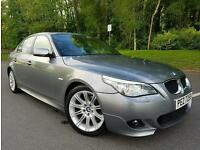 SORRY NOW SOLD!! June 2007 BMW 520d M Sport Auto LCI FACELIFT 177BHP, FULL LEATHER!