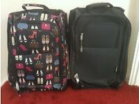Set of 2 hand luggage cabin bags/cases - brand new