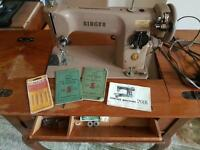 201k singer sewing machine with table