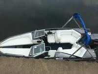 Speed boat/fishing boat/day boat 150hp speedboat bayliner