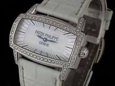 PATEK 4981G GONDOLO GEMMA LADIES WATCH 18K 18CT GOLD & DIAMOND WRISTWATCH