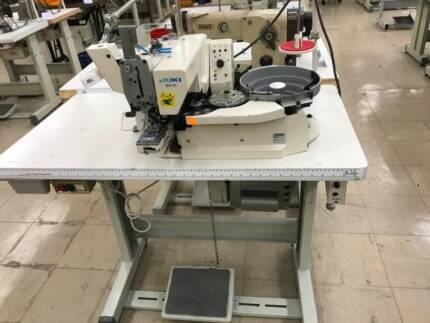 Industrial Sewing Machines – Button Attaching Machine (Auto)