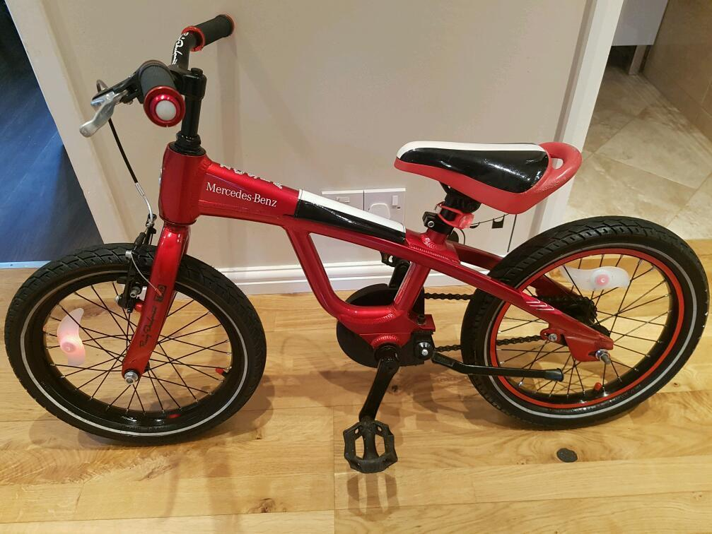 Mercedes benz kids child bike like giant specialized trek for Mercedes benz bikes
