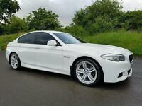 SORRY NOW SOLD!! (ALPINE WHITE) 2011 BMW 520d M sport Auto, 69000 MILES! FULL BMWSH