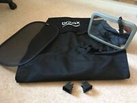 Britax Römer 3 Piece Set 'Protect and Safe' - Mirror, Sunshade, Seat Cover plus Isofix Guides