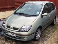 Renault Scenic in Great Condition, v.low mileage