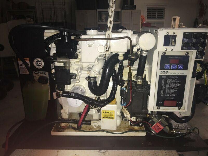 Kohler Gas 5kw ECD Marine Generator