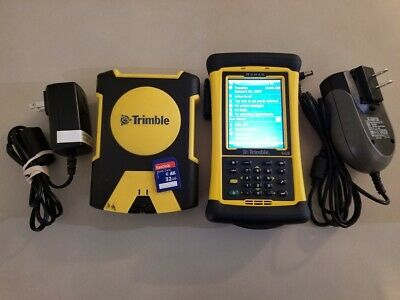 Trimble Tds Nomad 900 Data Collector Survey Pro 6.1 Terrasync And Pro Xh Gps