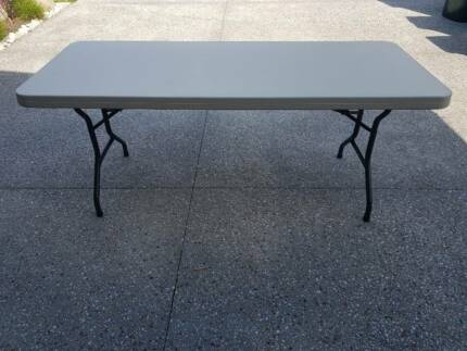 trestle table 6ft lifetime bi fold mould