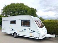 Compass Omega 2 Berth Caravan With End Washroom