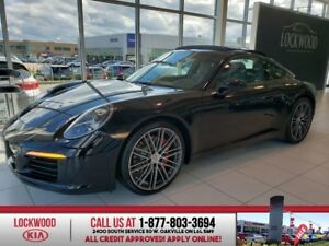 2017 Porsche 911 Carrera S, LEATHER, NAVI, SUNROOF