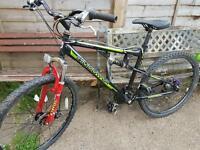 Muddy fox pro mountain bike