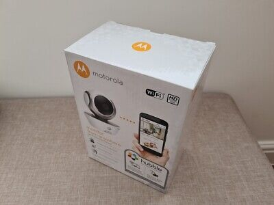 Motorola Focus 85 Connect HD Wi-Fi Remote Access Camera Home Baby Monitoring Box