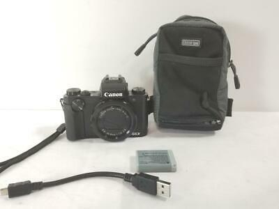 Canon PowerShot G5X 20.2MP Digital Camera (NOTES) (AM1048080)