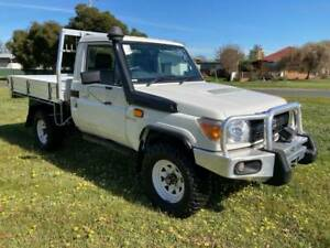 2016 TOYOTA LANDCRUISER SINGLE CAB CHASSIS, 4X4 ,V8 TURBO DIESEL Holbrook Greater Hume Area Preview