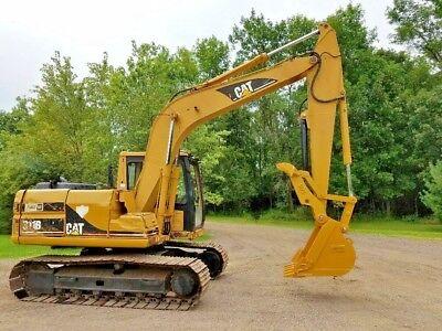 Caterpillar 312 Excavator Hydraulic Progressive Link Thumb Grapple Clamp CAT
