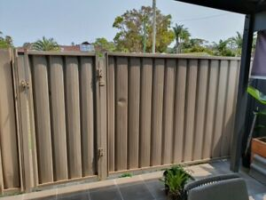 Dune Colorbond  metal Gate, panel and posts Caves Beach Lake Macquarie Area Preview