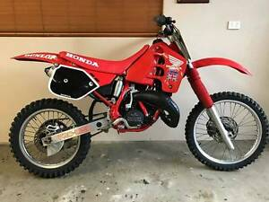 Honda CR125R Manunda Cairns City Preview