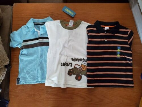 3 NWT Toddler Boys Gymboree and Sonoma Shirts Size 3T