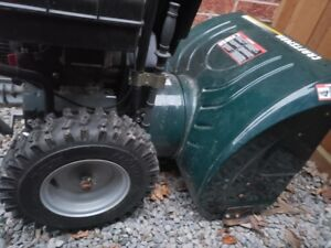"Craftsman 9HP 27"" Snow Blower For Sale"