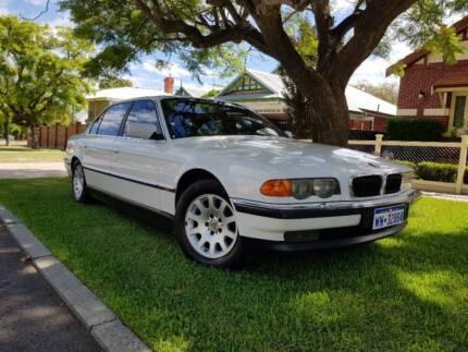 BMW 735iL Luxury sedan