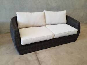 Sienna 3 Seater in South Pacific Coco and Synthetic Viro Rattan Loganholme Logan Area Preview