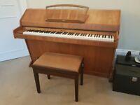 Piano - Eavestaff mini royal pianette. London NW3