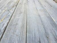 Reclaimed barn wood cladding, barn wood