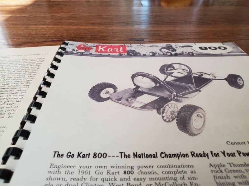 RARE GO-KART MFG. CATALOG 1960 MINI BIKES PARTS ACCESSORIES HISTORY FLEXO AZUSA