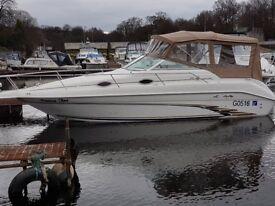 SeaRay Sundancer 250 cruiser boat sportsboat cabin cruiser