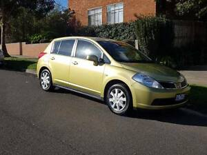 2006 Nissan Tiida Hatchback Moonee Ponds Moonee Valley Preview