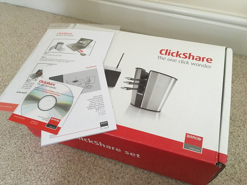 BARCO ClickShare CSC-1 (Brand New and Boxed)