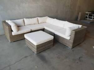 Ascot Modular Corner Lounge   Ottoman Loganholme Logan Area Preview
