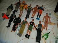 Range of Action Man Figures £5 Each
