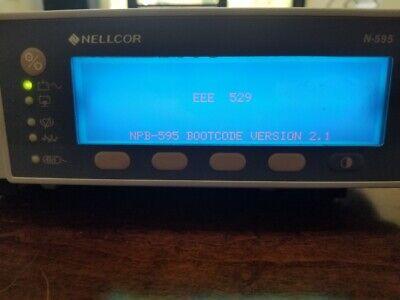 Nellcor N-595 Pulse Oximeter Monitor T 0.50a 250v